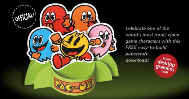 Blog_Paper_Toy_papertoy_Pacman_Desktop_Gremlins