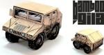 SD Humvee Papercraft