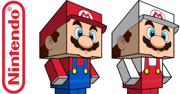 Blog_Paper_Toy_papertoys_Mario_Cubeecraft