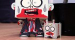 Zombie and buddy papertoys (x 2)
