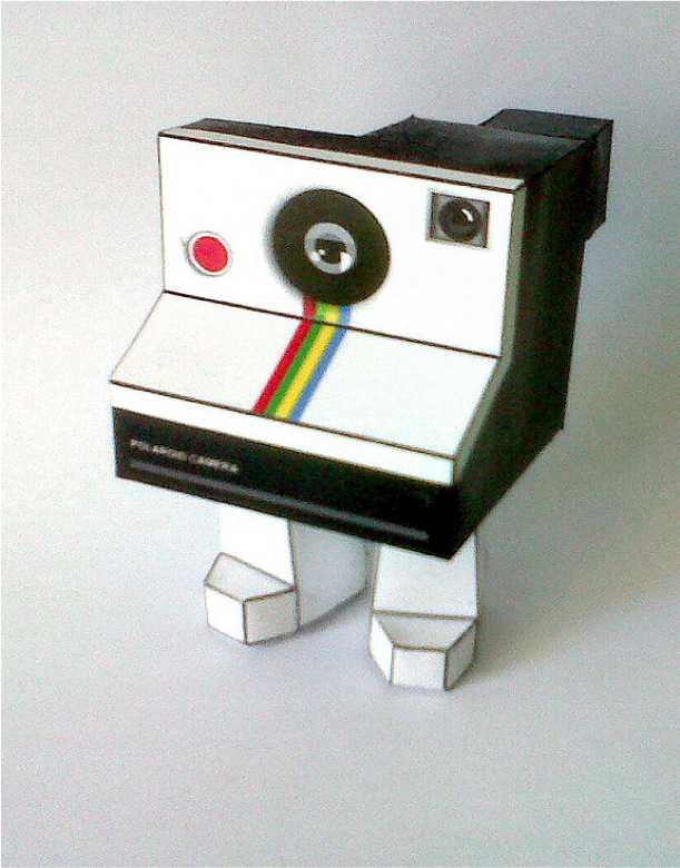 Blog Paper Toy Polaroid paper toy pic Polaroid Paper Toy