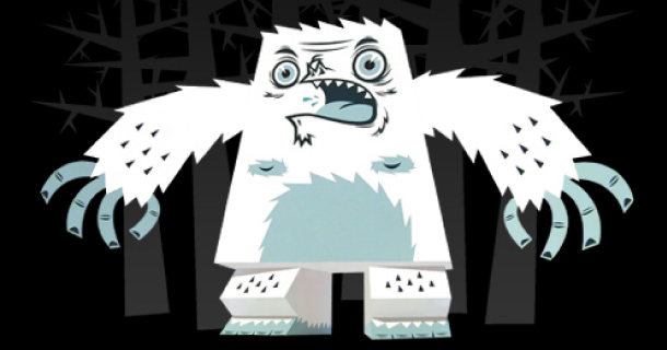 Blog_Paper_Toy_papertoy_Barry_Yeti_Tougui