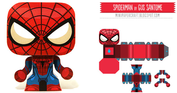 Blog_Paper_Toy_papertoy_Mini_Spider_Man_Gus_Santome