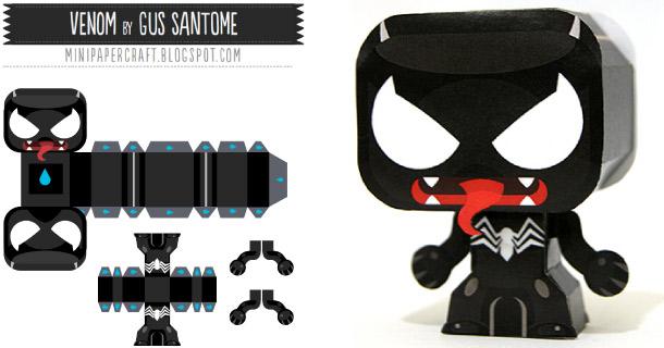 Blog_Paper_Toy_papertoy_Venom_Gus_Santome