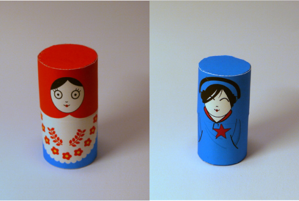 Blog Paper Toy papertoys Matryoshka dolls pic2 Matryoshka dolls papertoys (x6)