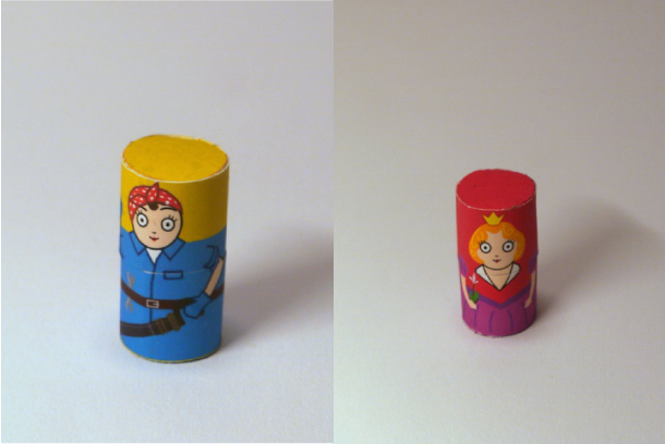 Blog Paper Toy papertoys Matryoshka dolls pic4 Matryoshka dolls papertoys (x6)