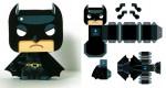 Batman mini papertoy de Gus Santome