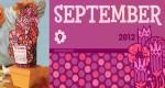 Calendrier de Septembre en papercraft