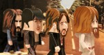 Papertoys The Beatles by Gary Willis (x 4)