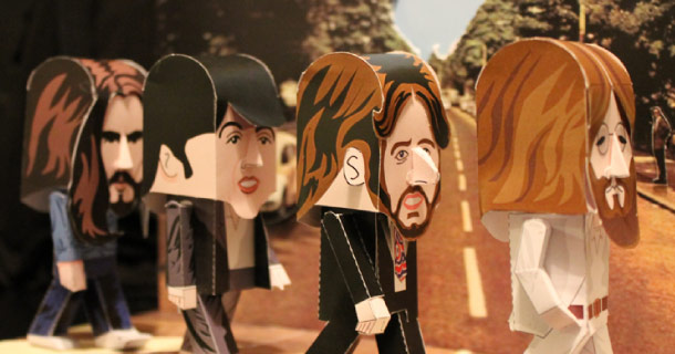 Blog_Paper_Toy_papertoys_Beatles_Gary_Willis