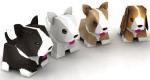 Puppies papertoys de Julius Perdana