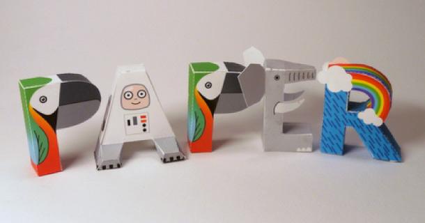 Blog_Paper_Toy_papercraft_Alphabet_Digitprop