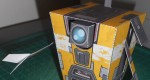 'Claptrap' Robot Papertoy de Bryan
