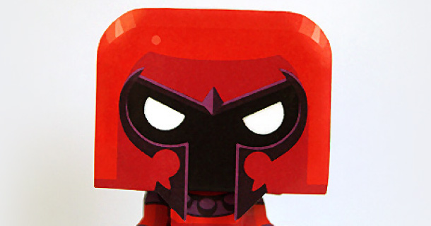 Blog_Paper_Toy_papertoy_Magneto_Gus_Santome