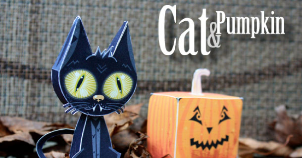 Blog_Paper_Toy_papertoys_Cat_Pumpkin_Bratliff