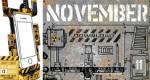Calendrier 'Phone Dock' de Novembre