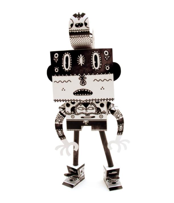 Blog Paper Toy papertoys Rodrigo Del Papel Aphte pic Rodrigo Del Papel batch #1 (x 10)