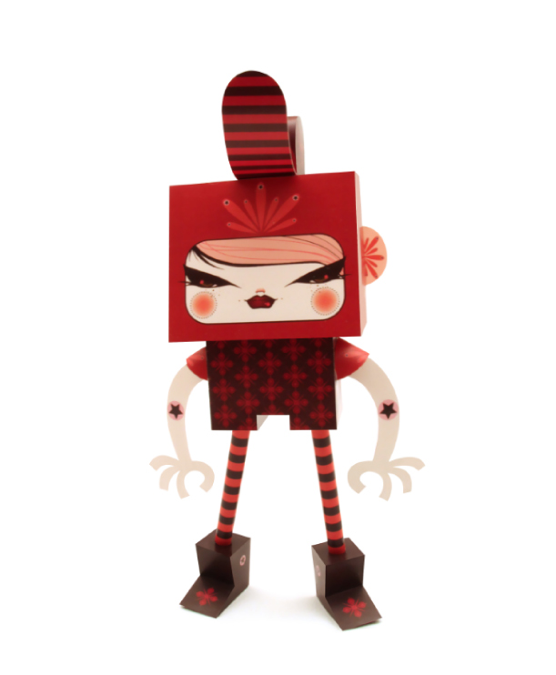 Blog Paper Toy papertoys Rodrigo Del Papel JulieWest pic Rodrigo Del Papel batch #1 (x 10)
