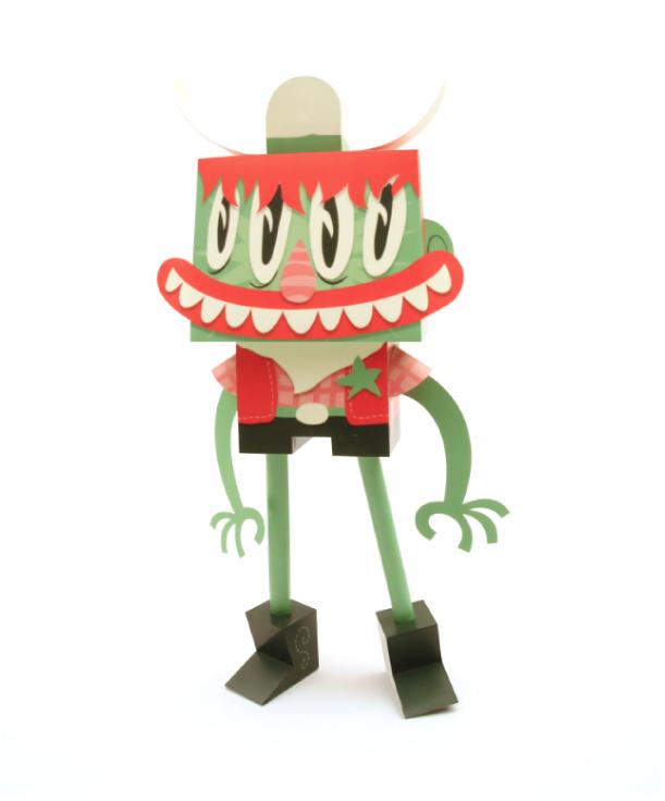 Blog Paper Toy papertoys Rodrigo Del Papel MattHawkins pic Rodrigo Del Papel batch #2 (x10)