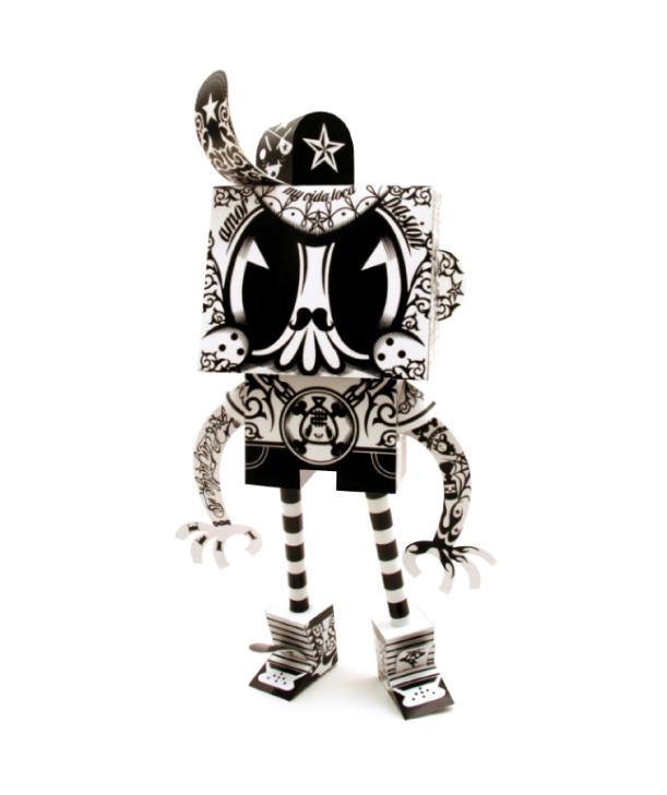 Blog Paper Toy papertoys Rodrigo Del Papel MrKone pic Rodrigo Del Papel batch #2 (x10)