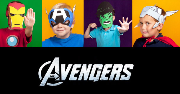 Blog_Paper_Toy_Avengers_Masks