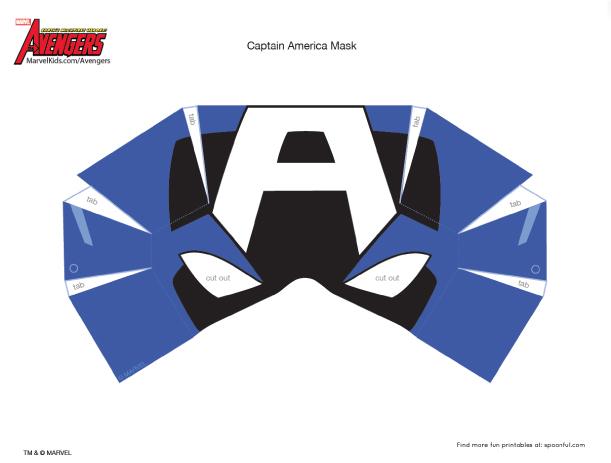 published - Masque Captain America