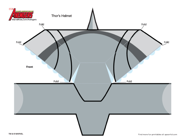 Masques en papier the avengers paper for Avengers mask template