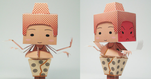 Blog_Paper_Toy_papertoy_Asura_21_Century_Papercraft