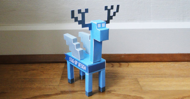 Blog_Paper_Toy_papertoy_Stag-up_Design