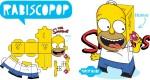 Homer Simpson en papertoy (^^)