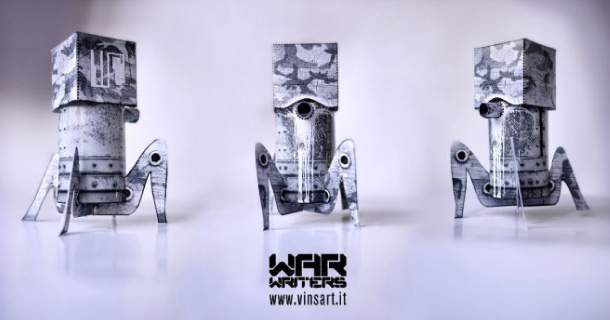 Blog_Paper_Toy_papertoy_War_Writers_Spider_Tower_Vinsart