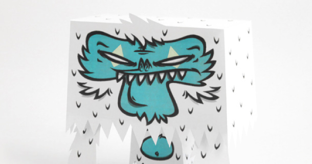 Blog_Paper_Toy_papertoy_YETI_v2_Tougui