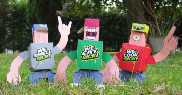 Blog_Paper_Toy_papertoys_Sick_Twins