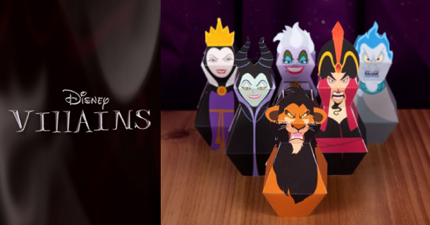 Blog_Paper_Toy_papercrafts_Disney_Villains_Bowling_Pins