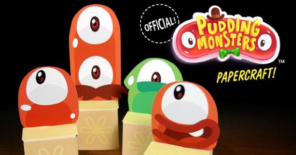 Blog_Paper_Toy_papercrafts_Pudding_Monsters_Desktop_Gremlins