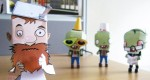 Papertoy 'Crazy Dave' (Plants Vs Zombies)