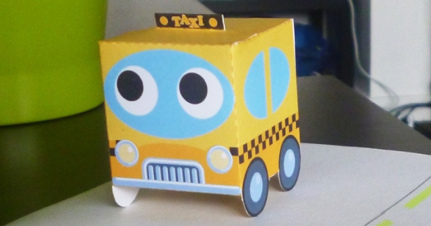 Blog_Paper_Toy_papertoy_Taxi_PaperBoxWorld