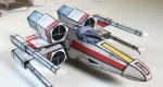 Star Wars X-Wing papertoy