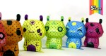 Hamster Rainbow papertoys by TPF (x6)