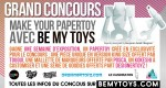 Concours Papertoys BE MY TOYS
