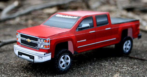 Blog_Paper_Toy_papercraft_Chevrolet_Silverado_2014
