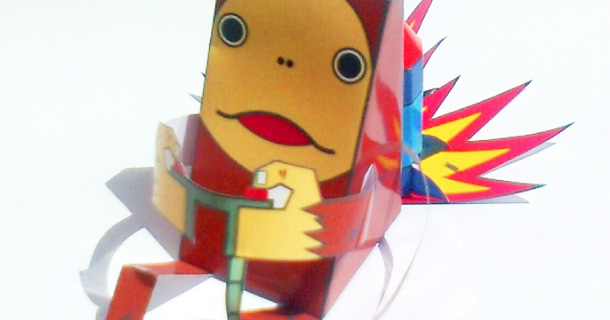 Blog_Paper_Toy_papertoy_Ourang_Outan_Tosan_Aji