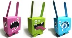 Rabbit Network papertoys (x 4)