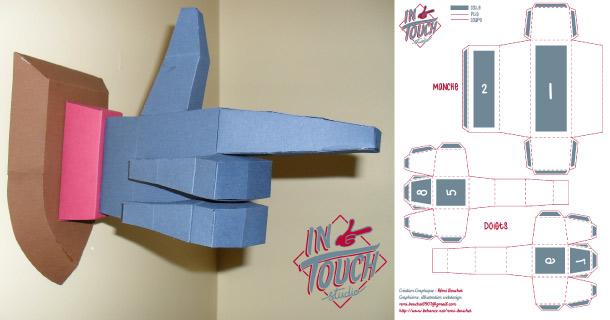 Blog_Paper_Toy_papercraft_Paper_Hand_Remi_Bouchet