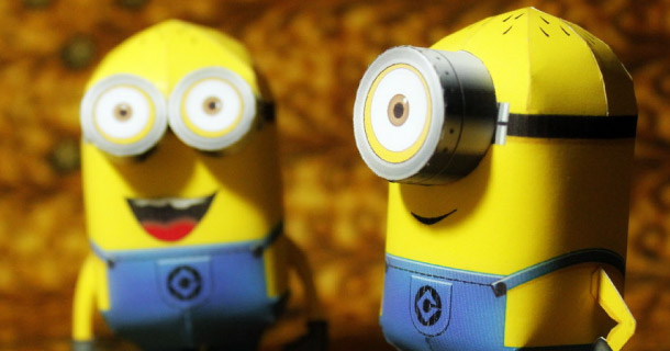 Blog_Paper_Toy_papercrafts_Minions_PaperReplika