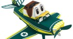 Oregon Duck Airplane