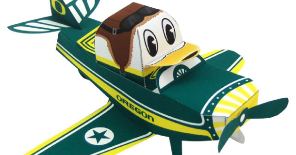 Blog_Paper_Toy_papertoy_Oregon_Duck_Airplane