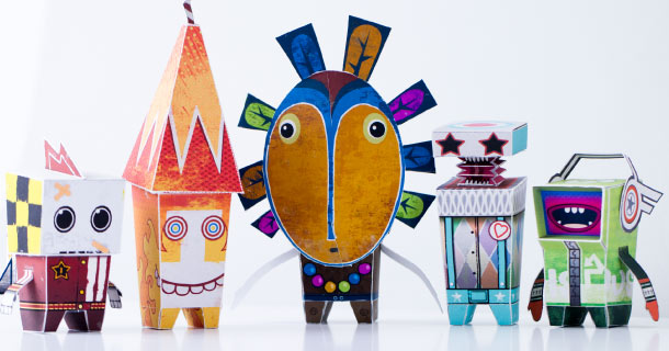 Blog_Paper_Toy_papertoys_Paper_Titans