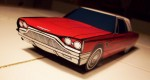 Papercraft Ford Thunderbird 1965