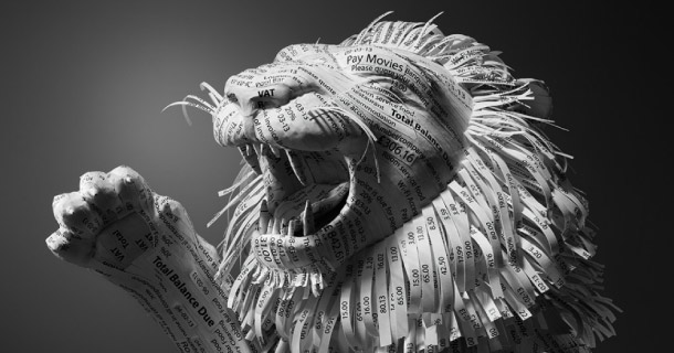 Blog_Paper_Toy_paper_arts_Receipt_Lion_Kyle_Bean